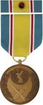 Korean War Service Commemorative Medal and Ribbon - $34.64