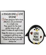 Ganz A Penguin Kind of Love Stone with Story Card (Love More) - $5.14