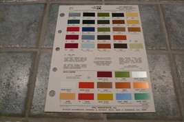 1975 Mercury Ditzler PPG Color Chip Paint Sample - Comet Cougar Monarch Bobcat - $8.79