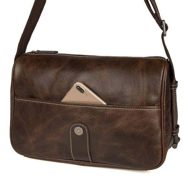 Sale, Work Bag, Messenger Bag, Men's Vertical Messenger Bag, Sling Messenger Bag image 4