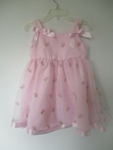 Ashley Ann Girl's Size 2T Solid Pink Sleeveless Easter Dress - $20.00