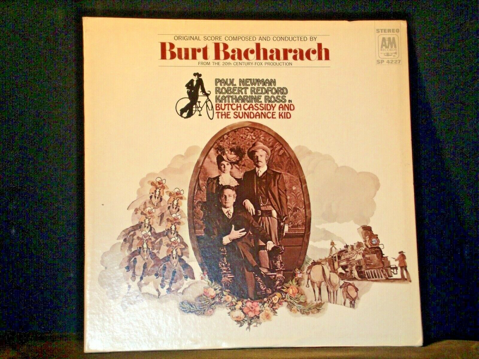 Burt Bacharach - Butch Cassidy & the Sundance Kid AA-191721 Vintage Collectible