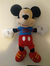 Mickey Mouse Plush Doll 20 Inch Just Play 2015 Disney - $14.84
