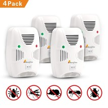 Pest Reject Pro Ultrasonic Repeller Home Bed Bug Mites Spider Roaches Pa... - $14.98