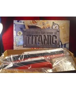 THE TITANIC BOOK and SUBMERSIBLE MODEL KIT 1999... - $569.25