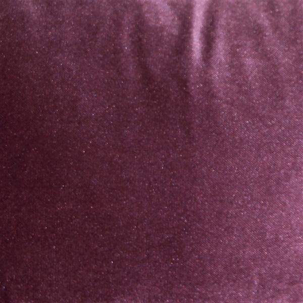 Pillow Decor - Corona Aubergine Velvet Pillow 12x20 image 2