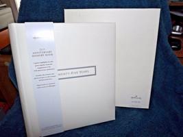 Hallmark 25th Twenty Five Anniversary Memory Book Album WCA5301 .....   18 - $26.72