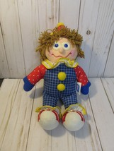 "A2 Gymboree Gymbo The Clown Plush 12"" Soft Toy Stuffed 1984 1985  - $19.79"
