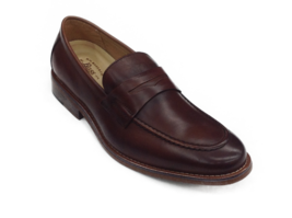 Men G.H. Bass Usa Leather Classic Dress shoes Loafer 70-10112 Conner British Tan - $125.00