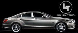 Mercedes CLS W218 Stainless Chrome Pillar Posts by Luxury Trims 2012-201... - $92.87