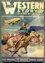 Western Story Magazine Pulp September 24 1938- Luke Short G - $31.53