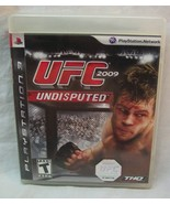 UFC UNDISPUTED 2009 SONY PlayStation 3 VIDEO GAME COMPLETE - $14.85