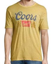 New Lucky Brand Coors Banquet Adult Vegas Gold Cotton Crewneck Tee - £15.81 GBP