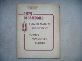 1979  Oldsmobile Service Manual Supplement. Torque Converter Clutch - $8.86