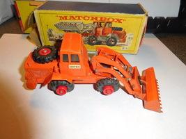 Matchbox Lesney K-3 Harta Tractor Shovel King Size Box & Vehicle - $86.00