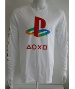 Playstation Mens Graphic Tee White 100% Cotton Sizes S M L XL T-Shirt - $26.23