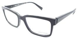Alain Mikli Rx Eyeglasses Frames A03033 1512 53x17 Dark Grey / Crystal Italy - $105.06