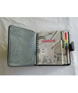 Pocket Planner Day Planner Snap Pocket Size Undated Inserts Refillable ~... - $9.99