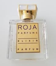 ELIXIR PERFUME ROJA DOVE 50ML BOTTLE (95% LEFT) WITH A CAP NO BOX FEMME - $375.00