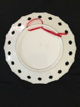 Vintage Carnival Glass Iridescent Caribbean Souvenir Collectible Plate Decor image 2