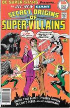 DC Super-Stars Comic Book #14 Origins of Super-Villains DC 1977 VERY FINE+ - $11.64