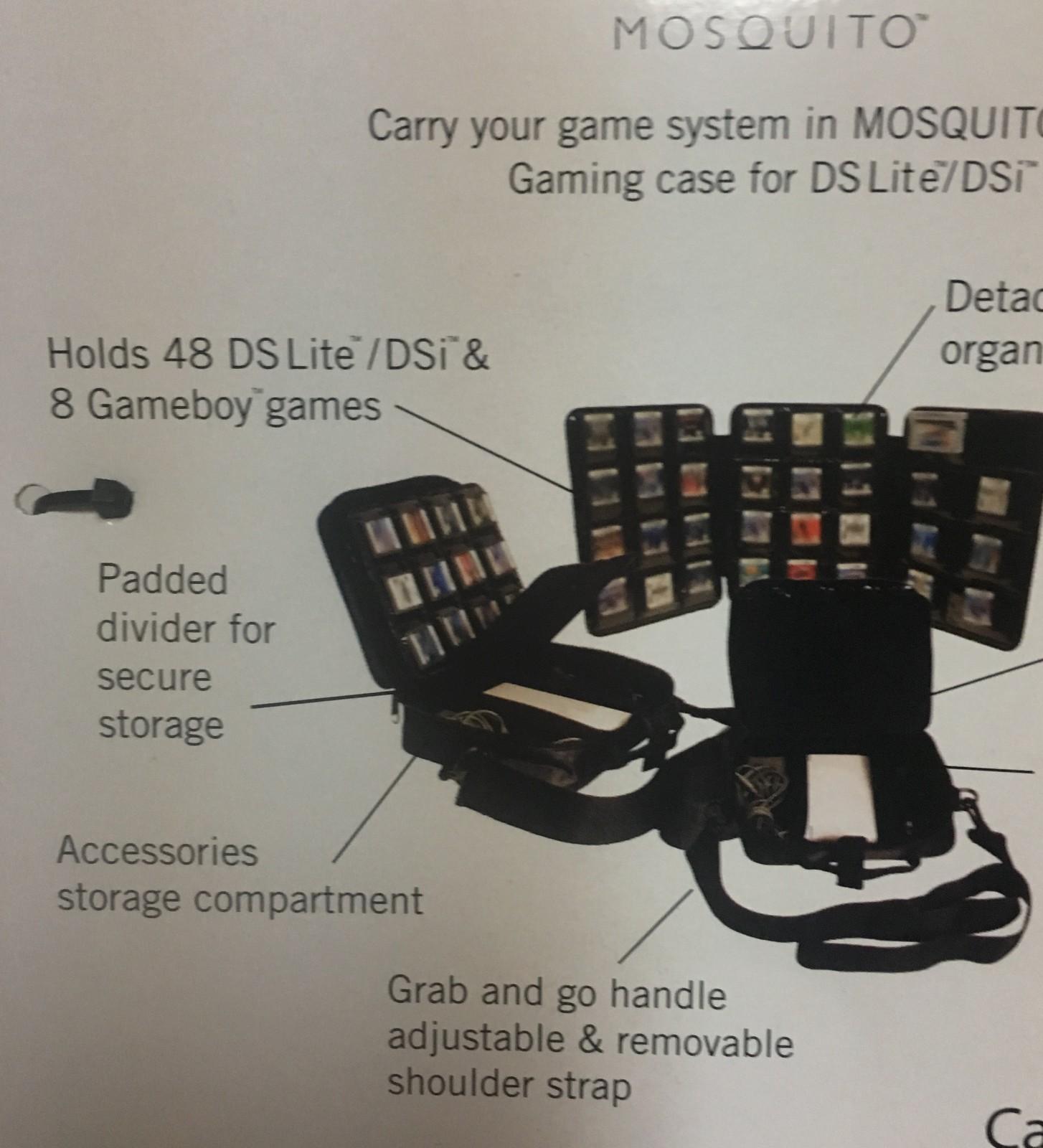American Gamer DS Lite/DSi System Games Carrying Case Portfolio