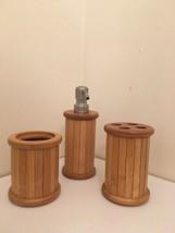 Wooden Bathroom Vanity Sink Set - $11.88
