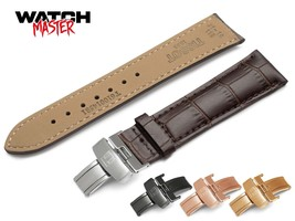 For TISSOT Dark Brown Leather Strap Band  watch 18mm 19mm 20mm 21mm 22mm... - $12.90