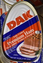 DAK Canned Premium Ham 16oz (1LB.) Fully Cooked Ready To Eat, Denmark - $7.42