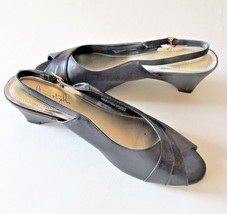Hush Puppies Brown Size 9.5 Medium Heels Soft Style - $18.80