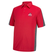 Ohio State Buckeyes Men's Fan Favorite Polo Shirt Short Sleeve Licensed NEW