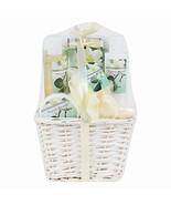 Invero® 7 Piece Ladies Magnolia Bloom Bath Hamper Gift Set Christmas Bir... - $52.45