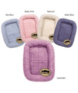Fabric Sherpa cage bases DOG Soft Comfortable Bed for Dogs CHOOSE - $17.99+