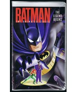 2002 Batman Animated Series Legend Begins VINTAGE VHS Clamshell Edition  - $13.99