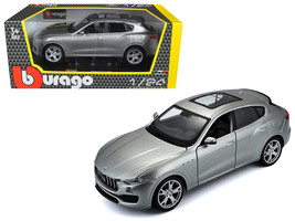 Maserati Levante Silver 1/24 Diecast Model Car by Bburago - $35.69
