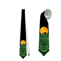 necktie mowgli the jungle book snake bear  neck tie - $22.00