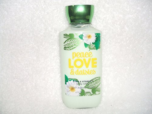 Bath & Body Works Peace Love & Daisies Body Lotion 8 Fl Oz 236mL