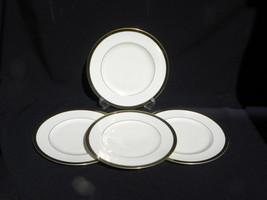 "4 Vint Lenox Ambassador Collection Langdon Gate Pattern 10 ¾"" Dinner Plates #2 - $39.99"