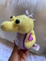 "Ganz Webkinz LIL' KINZ SEAHORSE 6"" Plush STUFFED ANIMAL Toy Used Free Ship - $14.03"