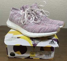 Adidas PureBoost Go B75824 Orchid Tint White Womens Size 11 New Fast Shipping - $57.82