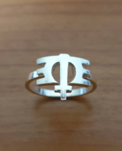 Ring - Melissa Etheridge - Symbol - Sterling Silver - Handmade - $49.00