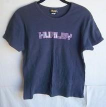 HURLEY - Women's Dark Blue S/S T-Shirt - SIZE S - $13.99