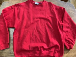 90s Red Pluma Russell Athletic Crewneck Sweatshirt Size XL Mint 90s - $25.64