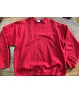 90s Red Pluma Russell Athletic Crewneck Sweatshirt Size XL Mint 90s - $28.49