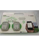 Belkin WeMo SWITCH WiFi Smart Switch 2-Packworks with iPod Iphone Ipad - $28.04