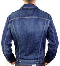 Levi's Men's Classic Cotton Button Up Blue Denim Jeans Jacket 707970013 Size XL image 3