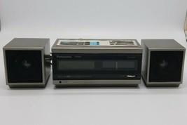 Vintage Panasonic Pana Accu-Set FF RC-X310 Clock AM/FM Radio 2 Sure Alarms - $59.28