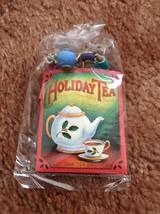 1992 HALLMARK - HOLIDAY TEATIME - MICE WITH TEA BAGS -  No Box - $11.00