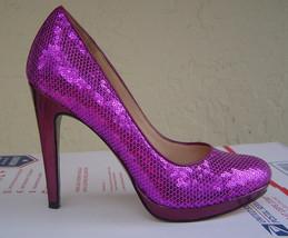New Cole Haan Pink Sequins Platform Pumps Size 8 M $328 - $37.99