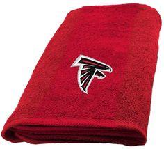 Atlanta Falcons Hand Towel measures 15 x 26 inches - $16.95